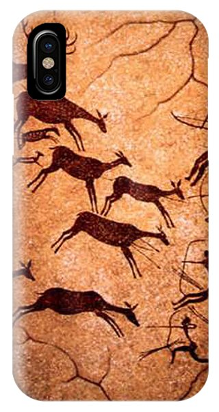 Lascaux Stag Hunting IPhone Case