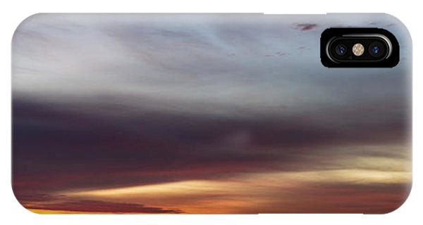 Last 2012 Sunrise Panoramic IPhone Case