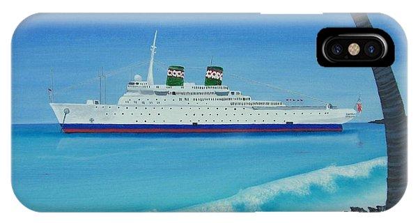 Last Cruise IPhone Case