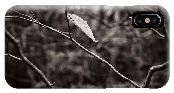 Last Leaf IPhone Case