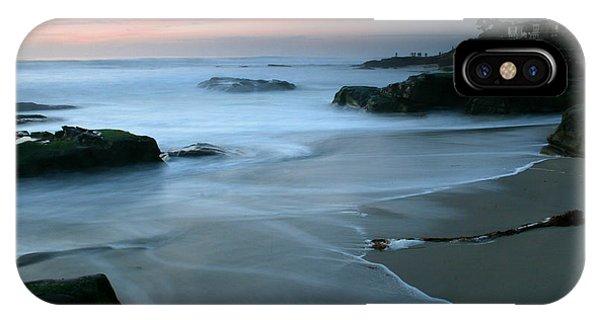 Last Light At Windansea Beach IPhone Case