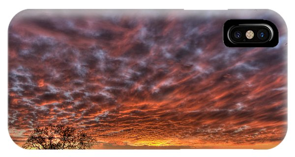 IPhone Case featuring the photograph Last Light In Oracle by Tam Ryan