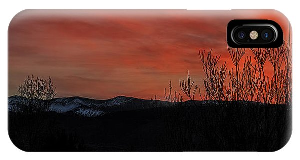 iPhone Case - Last Light by Nancy Marie Ricketts