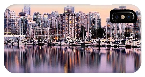 City Scape iPhone Case - Fading Summer by Donna Howton