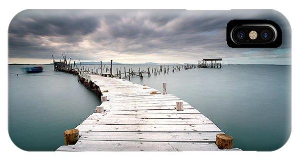 Pier iPhone Case - Last Path by Jorge Feteira