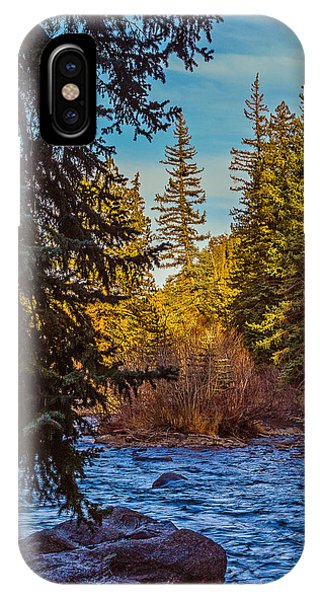Late Afternoon Along The South Platte Phone Case by Mike Schaffner