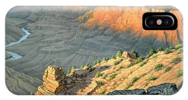 Desert iPhone Case - Late Afternoon-desert View by Paul Krapf