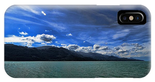 Late Afternoon On Harrison Lake Bc IPhone Case