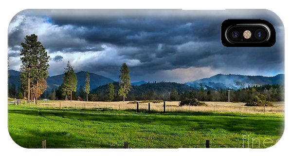 Late Afternoon Weather IPhone Case