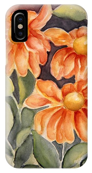Late Autumn Flowers IPhone Case
