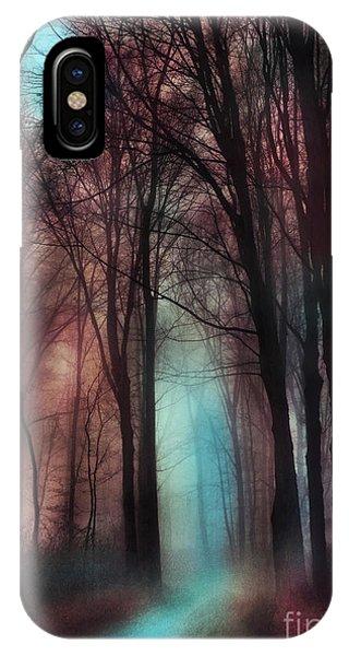 Late Autumn Moon Winter On The Way IPhone Case