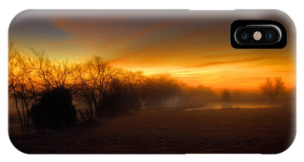 Late Autumn Sunrise IPhone Case