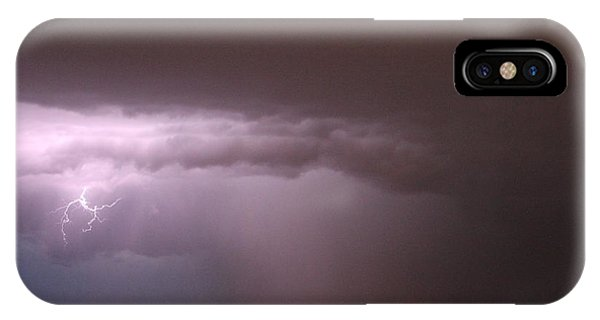 iPhone Case - Late Evening Nebraska Thunderstorm by NebraskaSC