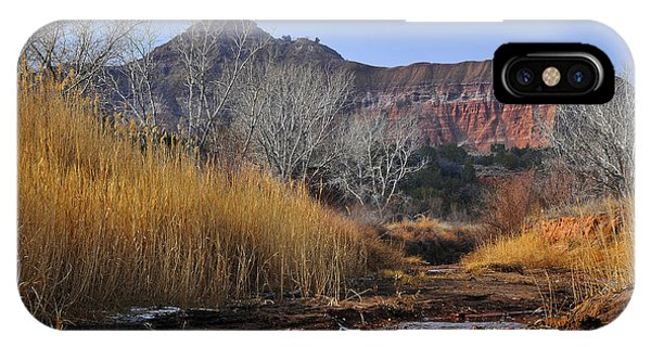 Late Fall In Palo Duro Canyon IPhone Case