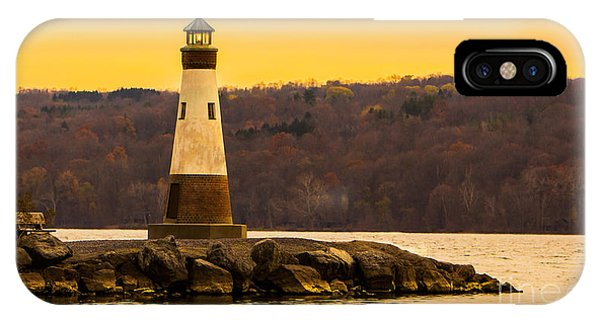 Late Fall Sunset At Myers Park IPhone Case