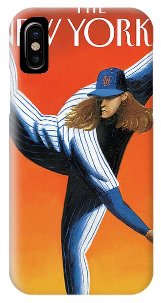 Late Innings IPhone X Case