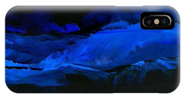 Late Night High Tide IPhone Case