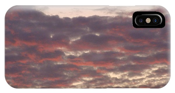 Late Summer Evening Sky IPhone Case
