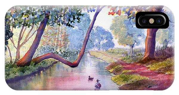 Late Summer In Brompton By Sawdon IPhone Case