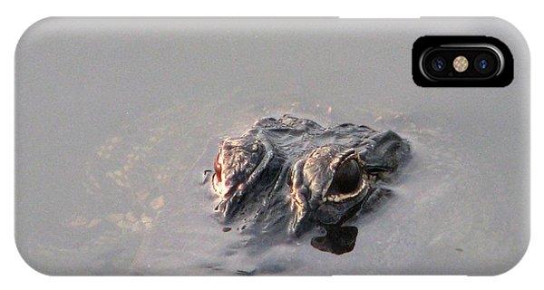 Later Gator Phone Case by Joseph Williams