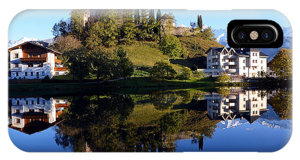 Laudegg Castle In Tyrol IPhone Case