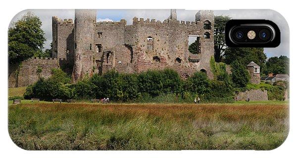 Laugharne Castle IPhone Case