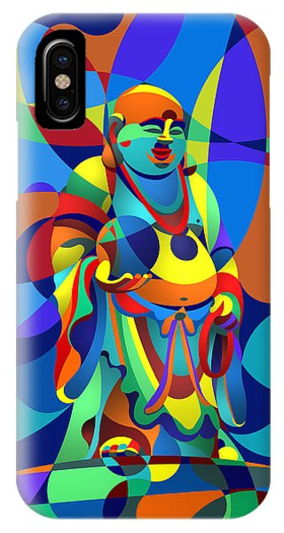Laughing Buddha IPhone Case