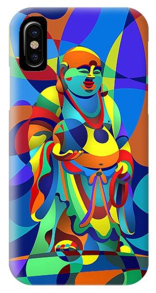 Laughing Buddha IPhone Case