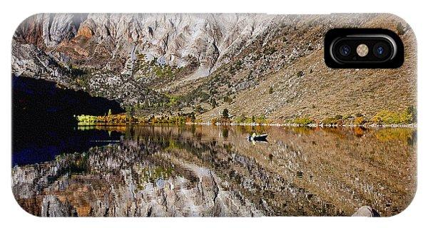 Laural Mountain Convict Lake California IPhone Case