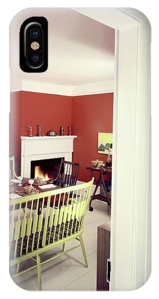 Laurens W. Macfarland's Dining Room IPhone Case