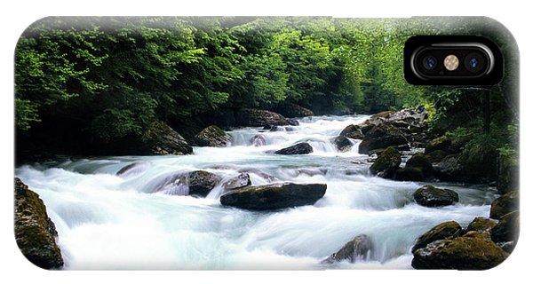Lauterbrunnen River IPhone Case