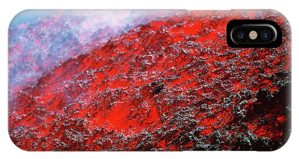 Etna iPhone Case - Lava Flow by Jeremy Bishop/science Photo Library