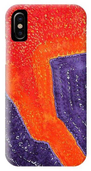 Lava Flow Original Painting IPhone Case