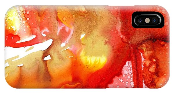 Lava Flow IPhone Case