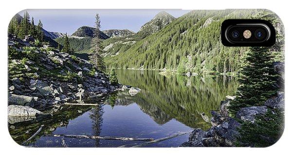 Lava Lake II IPhone Case