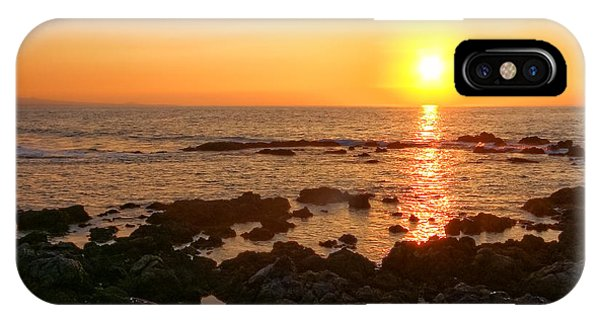 Lava Rock Beach IPhone Case