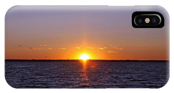 Lavallette Sunset I Phone Case by Dave Dos Santos