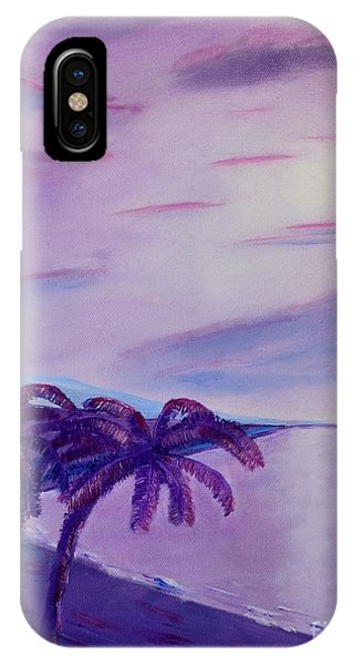Lavender Bay IPhone Case