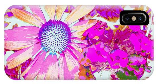 Lavender Echinacea IPhone Case