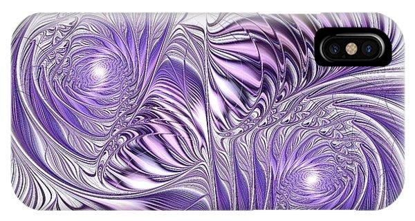 Lavender Elegance IPhone Case