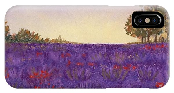Lavender Evening IPhone Case