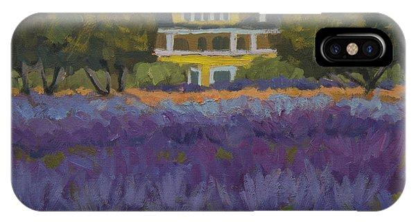 Lavender Farm On Vashon Island IPhone Case