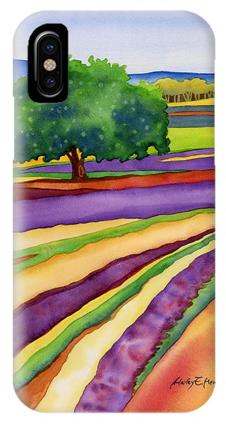 Provence iPhone Case - Lavender Field by Hailey E Herrera