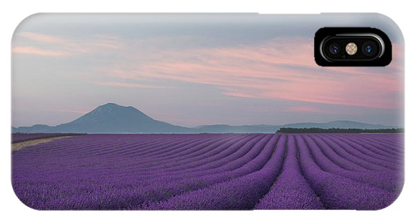 Provence iPhone Case - Lavender Field by Rostovskiy Anton