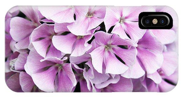 Lavender Flocks IPhone Case