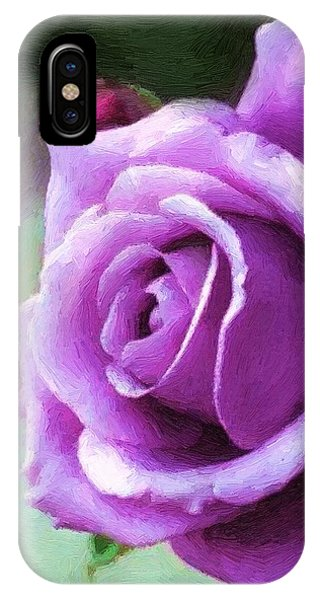Lavender Lady IPhone Case