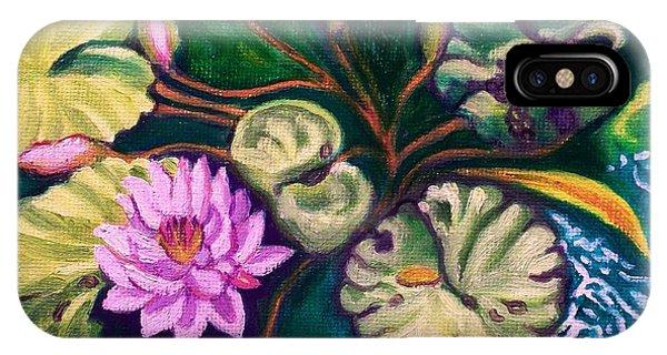 Lavender Lotus Flower IPhone Case