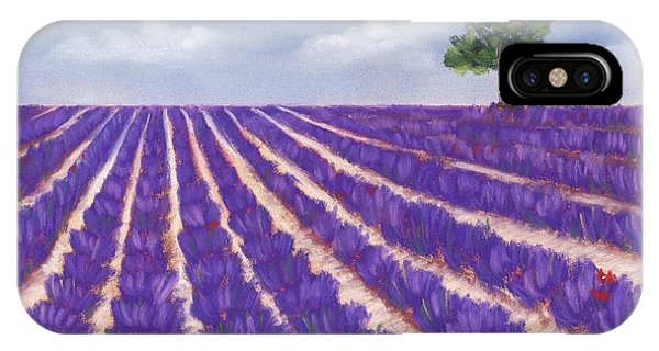 Lavender Season IPhone Case