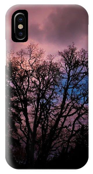 Lavender Storm IPhone Case