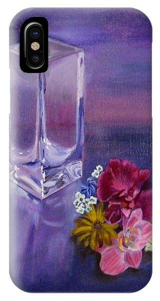 Lavender Vase IPhone Case